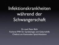 Toxoplasmose - Praxis Dr. med. Peter Böhi