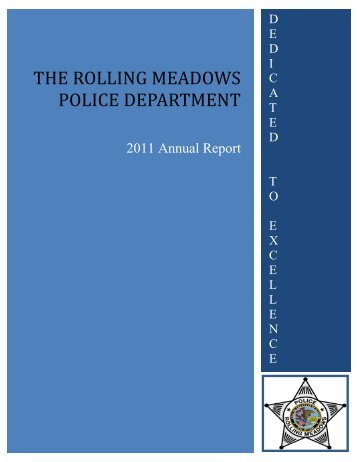THE ROLLING MEADOWS POLICE DEPARTMENT - City of Rolling ...