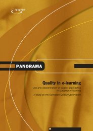 Quality in e-learning