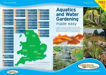 Maidenhead Aquatics V6 - Virtual Garden Centre