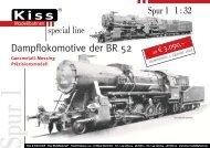 Blatt 1 BR 52-neu - Kiss Modellbahnen