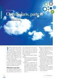 OpenSolaris, parte 11 - Linux New Media