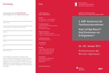 24.–25. Januar 2011 Konferenz - Emf-berlin.org