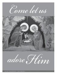 December 26, 2010 Holy family of Jesus, Mary and Joseph 1