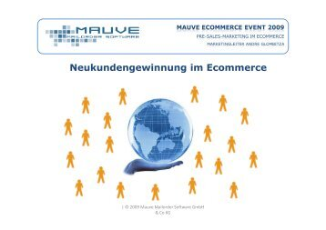 MAUVE ECOMMERCE EVENT 2009