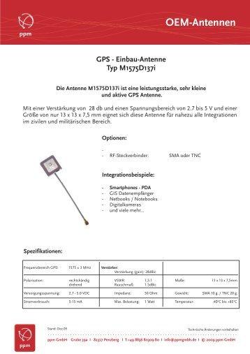 Maxtenna Einbau-Antennen alle... - ppm GmbH