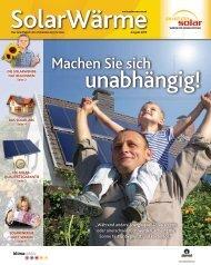 """Machen Sie sich """"Während andere Energiequellen ... - Austria Solar"""