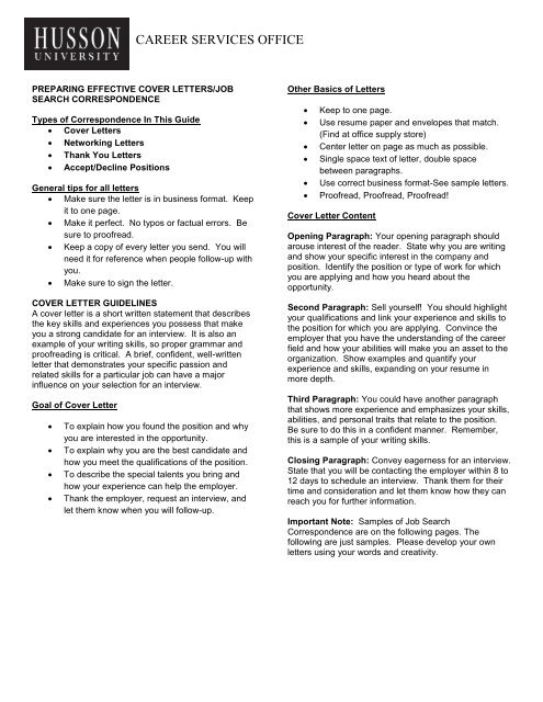Does A Cover Letter Have To Be One Page from img.yumpu.com
