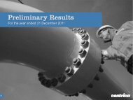Preliminary results Presentation slides 2012 - Download ... - Centrica