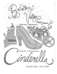 Musical Program - Ralston Valley High School