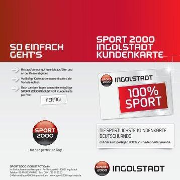 100% SPORT - sport 2000 ingolstadt