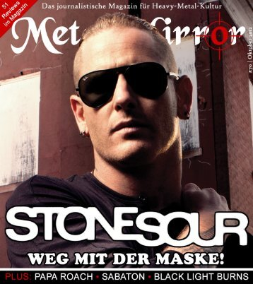 METAL MIRROR #70 - Stone Sour, Black Light Burns, Papa Roach ...