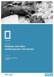 Diabetes and other cardiovascular risk factors - Hiproweb.org