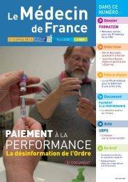 Médecin de France n°1188 - CSMF