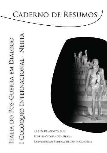 Caderno de Resumos - NEIITA - Núcleo de Estudos ...