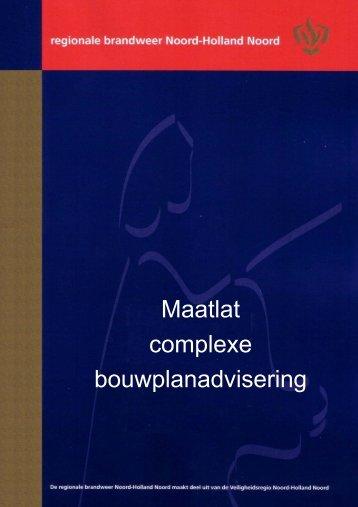 Maatlat Complexe Bouwaanvragen.pdf - BrandweerKennisNet
