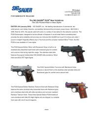 to view the latest custom shop pricing and services - Sig Sauer