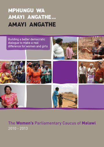 Active Learning Centre-Malawi Women's Caucus Report - Scotland ...