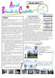 Décembre 2008 N° °1 - Blanche de Castille