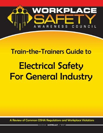 Train-the-Trainers Guide to Electrical Safety for General ... - APWU