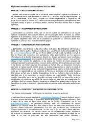 Page 1 sur 5 Règlement complet du concours photo 2012 du SNED ...