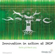 IHIF brochure - Christie + Co Corporate