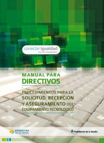 Manual para Directivos - Ministerio de Educación