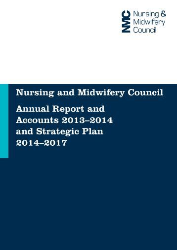 NMC Annual Report and Accounts 2013 - 14