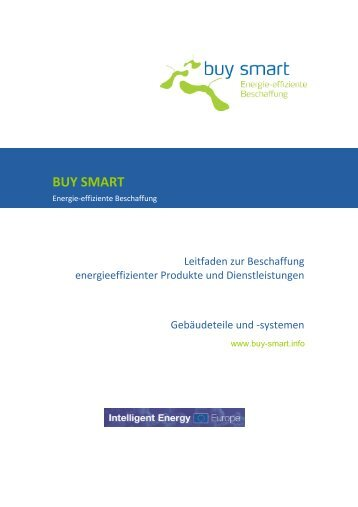 Leitfaden Gebäudeteile - buy smart - Green Procurement for Smart ...