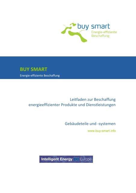 Leitfaden Gebäudeteile - buy smart - Green Procurement for Smart ...