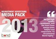 media pack - Bond