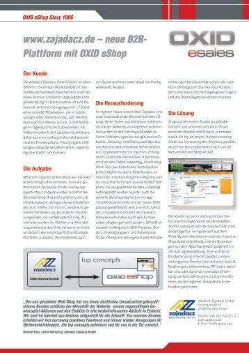 Starke Partnerschaften für Ihren Verkaufserfolg - top concepts ...