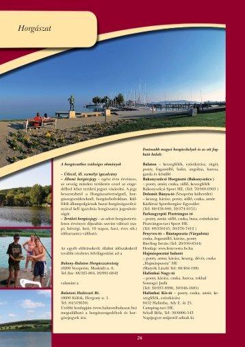 Horgászat - Veszprém megye honlapja