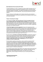 2011-12 Operational Plan - Bond
