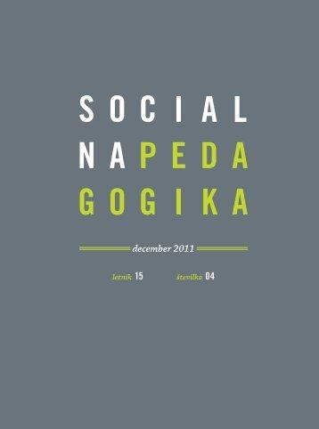 št. 4 - Revija Socialna pedagogika - ZZSP