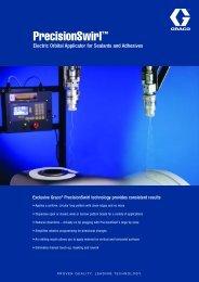 300537E , PrecisionSwirl Electric Orbital Applicator for ... - Graco Inc.