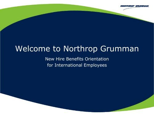 NHO International 2009 - Benefits Online