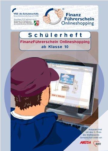 FinanzFührerschein Onlineshopping - Verein  Schuldnerhilfe Essen