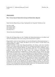 Protokoll Runder Tisch 24.04.01 - Agenda-wuerselen.de