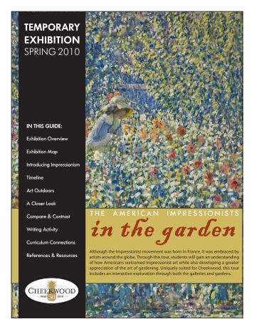 EXHIBITION - Cheekwood Botanical Garden and Museum of Art