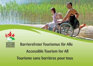 Barrierefreier Tourismus für Alle - Naturfreunde Internationale