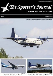 August 2013 - Aviation Photography Luxembourg