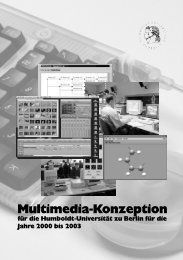 Multimedia-Konzeption - Medienkommission des Akademischen ...