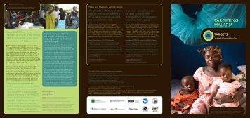TARGETING MALARIA - TARGETS Consortium