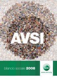 bilancio sociale 2008 - Avsi