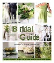 Jan 2012 Bridal Guide - Advertiser Community News