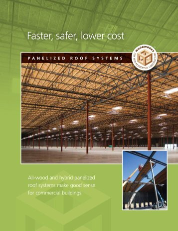 Panelized Roof Systems - WoodWorks