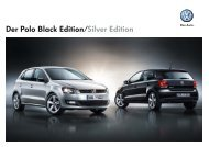 Der Polo Black Edition/Silver Edition - Volkswagen AG