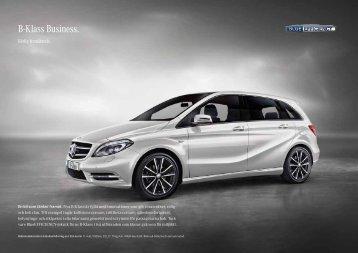 B-Klass Business. - Mercedes-Benz