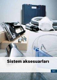 Sistem aksesuarları - Bosch elektrikli el aletleri